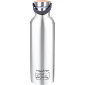 360° degrees Vacuum Insulated Drink Bottle 750ml, steel